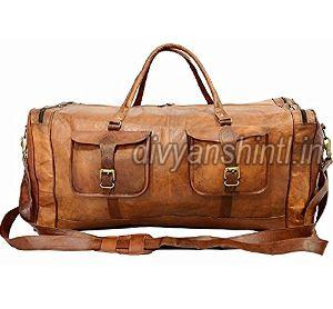 Leather Luggage Bag 08
