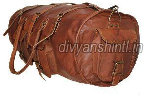 Leather Luggage Bag 10