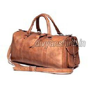Leather Luggage Bag 11