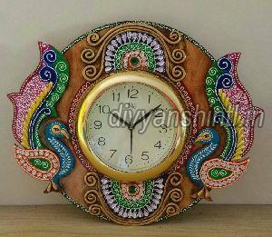 Wooden Wall Clock 03