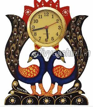 Wooden Wall Clock 05