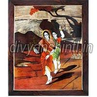 Wooden Inlay Painting