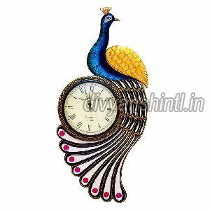 Wooden Wall Clock 01
