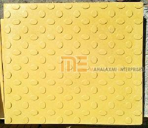 Glossy Finish Bindi Yellow Parking Tile
