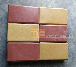 Glossy Finish Brick Paver Block