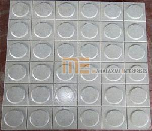 Glossy Finish Dollar Gray Parking Tile