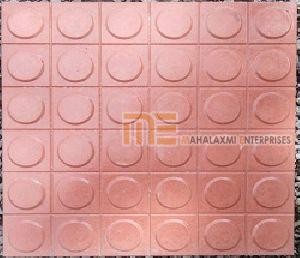 Glossy Finish Dollar Red Parking Tile 02
