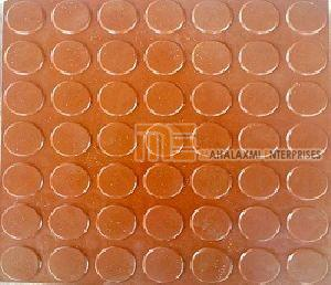 Glossy Finish Dollar Red Parking Tile