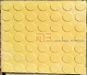 Glossy Finish Dollar Yellow Parking Tile