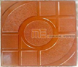 Glossy Finish Doordarshan Parking Tile