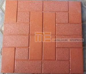 Glossy Finish Marmura Red Parking Tile