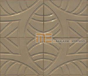 Glossy Finish Y-Shape Parking Tile