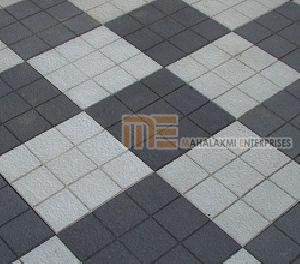 Glossy Pattern Parking Tiles 03