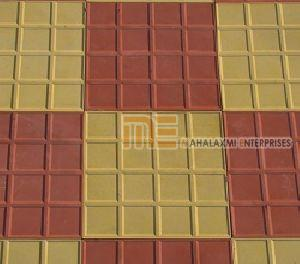 Glossy Pattern Parking Tiles
