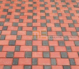 Square and Brick Pattern Paver Block 03