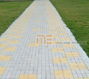 Square and Brick Pattern Paver Block