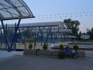Under Pass Steel Canopy