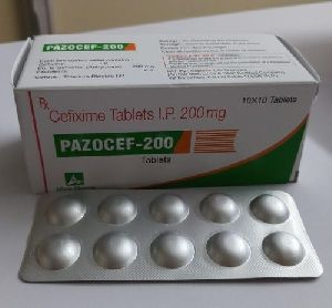 Pazocef 200 Tablets