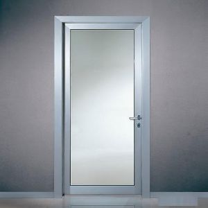 Aluminum Single Glass Door