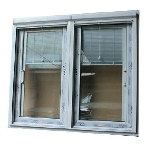 Office UPVC Glass Window