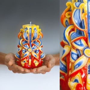 Carved Candles