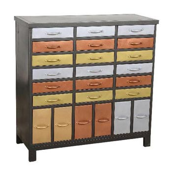 Iron Chest Drawers