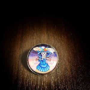 25 mm Printed Pin Catrina