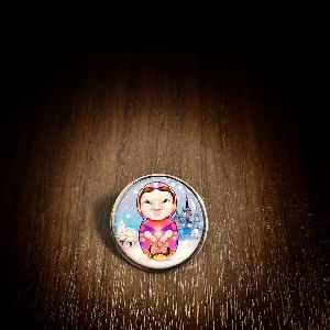 25 mm Printed Pin Mamushka