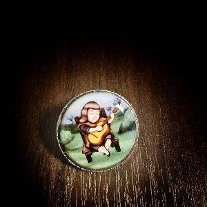 25 mm Printed Pin Violeta Parra