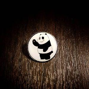 25 mm Round Printed Pin 01