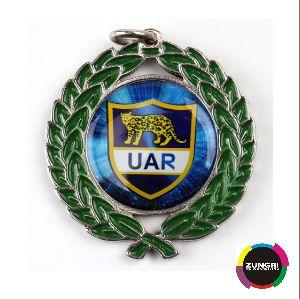 Bay Leaf  Designer Metal Medal