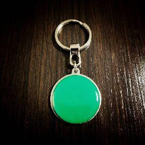 Circle Customized Metal Keychain