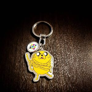 Customized Pinted Keychain CN 02
