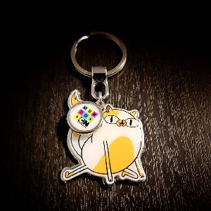 Customized Pinted Keychain CN 03