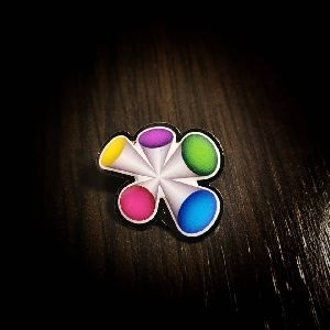 Customized Printed Badge Pin
