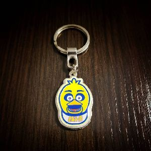 Five Nights at Freddy Customized Metal Keychain 01