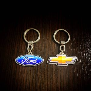 Ford Chevrolet Customized Metal Keychain