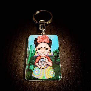 Foto Max Frida Customized Metal Keychain