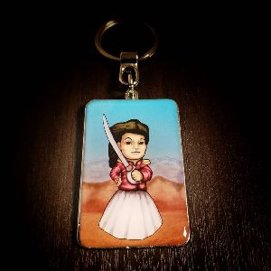 Foto Max Juana Customized Metal Keychain