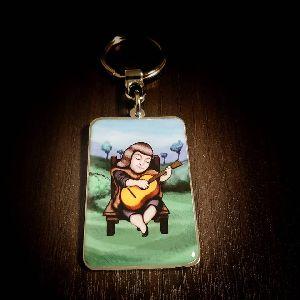 Foto Max Violeta Parra Customized Metal Keychain