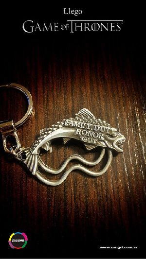 Game Of Thrones 6 Metallic Keychain