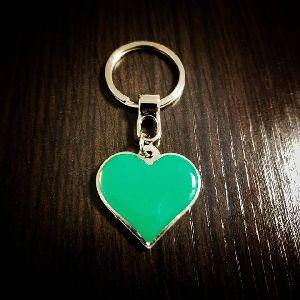 Heart Customized Metal Keychain
