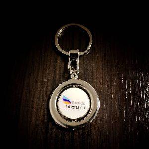 Llavero Giratorio Customized Metal Keychain