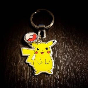 Pikachu Customized Metal Keychain