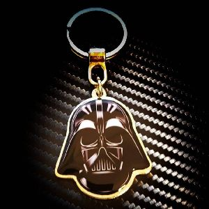 ST - Darth Vader Customized Metal Keychain