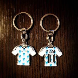 T-Shirt Customized Metal Keychain 02