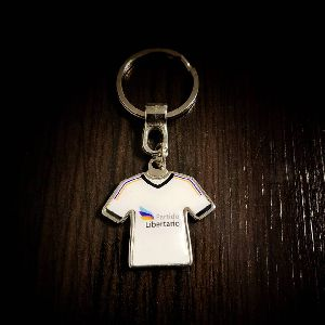 T-shirt Customized Metal Keychain 03