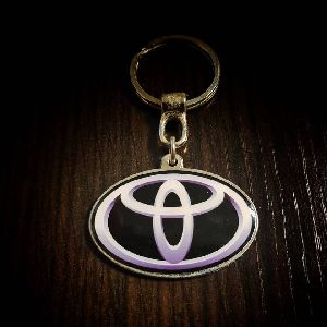 Toyota Customized Metal Keychain