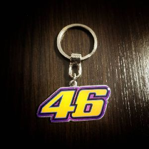 Valentino Rossi Customized Metal Keychain