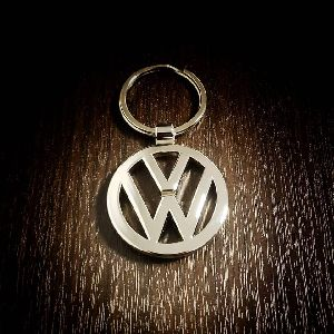 VW Metallic Keychain